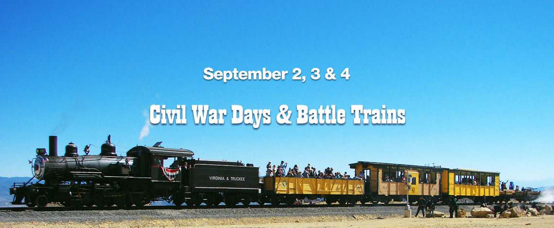 Civil War Battle Train