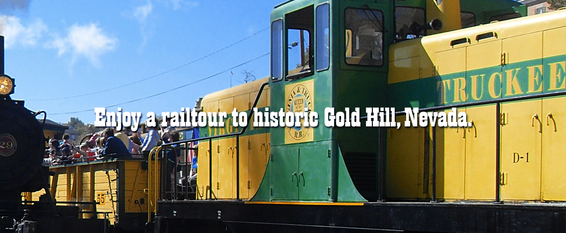 Enjoy a Railtour to Historic Gold Hill