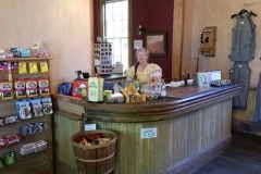 Counter with V&T Employee